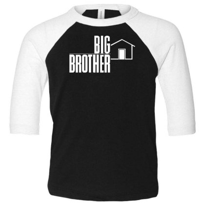 Big Brother Reality Tv Show Toddler 3/4 Sleeve Tee Designed By Wanzinx
