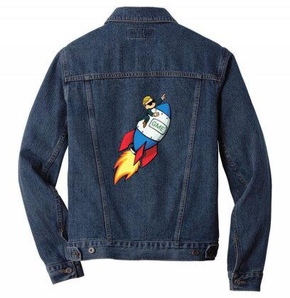Run Gme Gamestock Men Denim Jacket Designed By Robertosupeno
