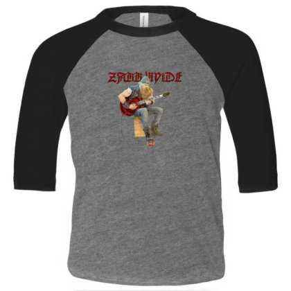 Wylde Guitar Toddler 3/4 Sleeve Tee Designed By Rifky Andhara