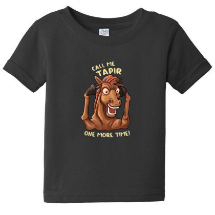 Call Me Tapir Baby Tee Designed By Pollerns