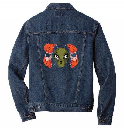 Aliendinside Men Denim Jacket Designed By Pollerns