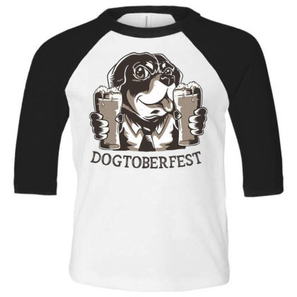 Doctoberfes Toddler 3/4 Sleeve Tee Designed By Pollerns