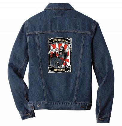 Dia De Los Men Denim Jacket Designed By Pollerns