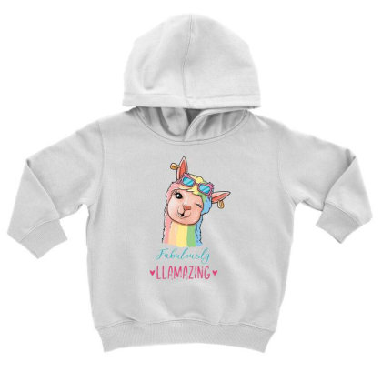 Fabulously Toddler Hoodie Designed By Pollerns