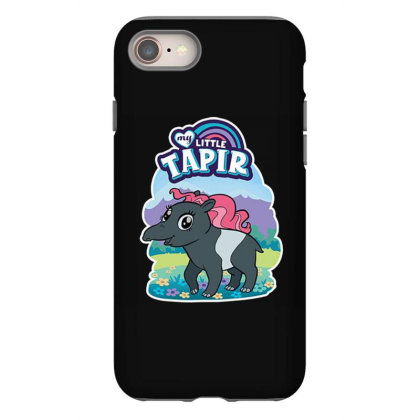 My Little Tapir Iphone 8 Case Designed By Pollerns