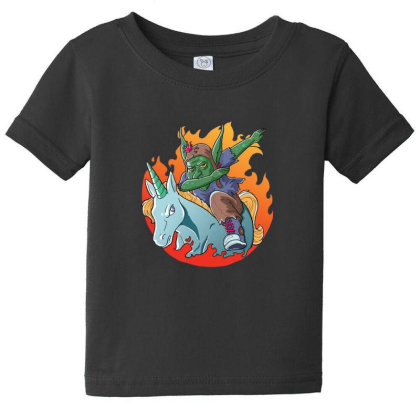 Goblin Dabbing Baby Tee Designed By Pollerns