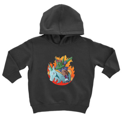 Goblin Dabbing Toddler Hoodie Designed By Pollerns