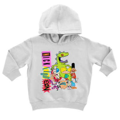 Nick .elod.eon  Throw .back  Retro Character  T Shirt Toddler Hoodie Designed By Tegan8688
