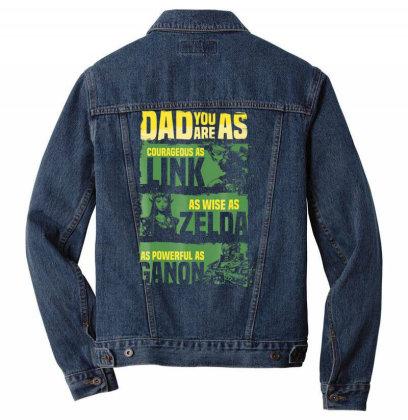 Nin.ten. Do Legend Of Zel. Da Dad Relates To Game  T Shirt Men Denim Jacket Designed By Tegan8688
