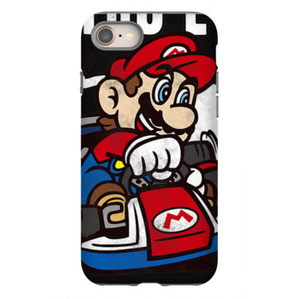 Nin.ten.do  Ma  Kart Do You Even Drift Bro  T Shirt Iphone 8 Case Designed By Tegan8688