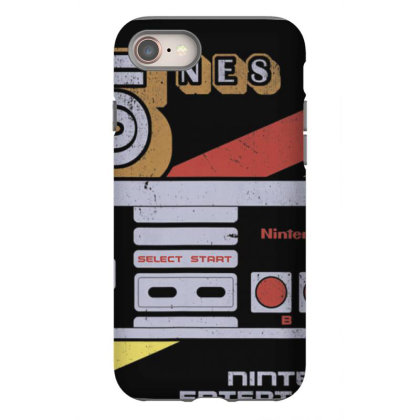 Nin.ten.do  Nes  Controller  Retro Stripe 85  T Shirt Iphone 8 Case Designed By Tegan8688