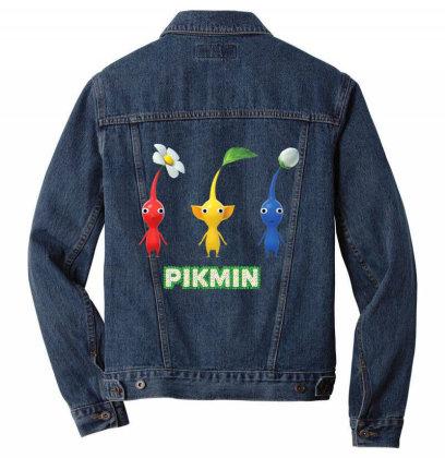 Nin.ten.do  Pik .min  Trioo  Simple T Shirt Men Denim Jacket Designed By Tegan8688