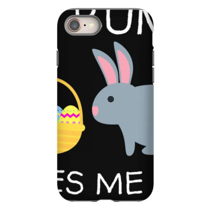 No Bunny Loves Me Like Jesus Funny Kid's Easter Christian T Shirt Iphone 8 Case Designed By Tegan8688