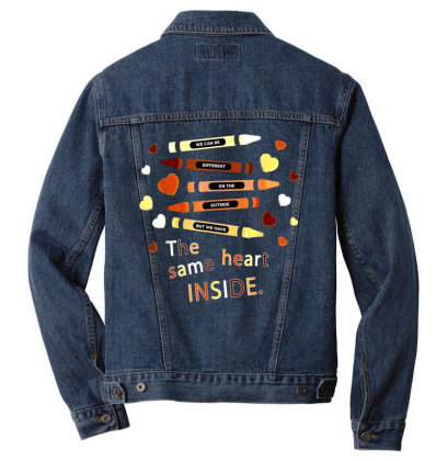 No Room For Ra.cism   Stop Asi..an Hate T Shirt Men Denim Jacket Designed By Tegan8688