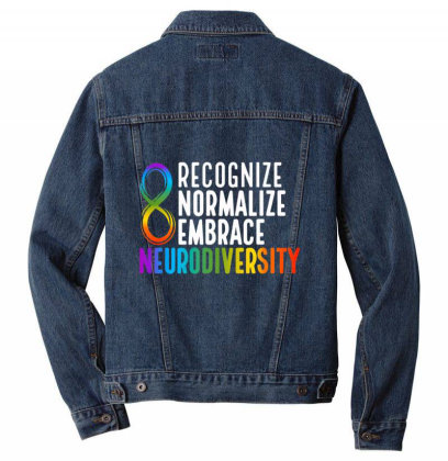 Novelty Neu.rodi.ver.sity Rainbow Infinity Women Men Kids T Shirt Men Denim Jacket Designed By Tegan8688
