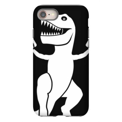 Now I Am  Uns.top.pable    T Rex  T Shirt Iphone 8 Case Designed By Tegan8688