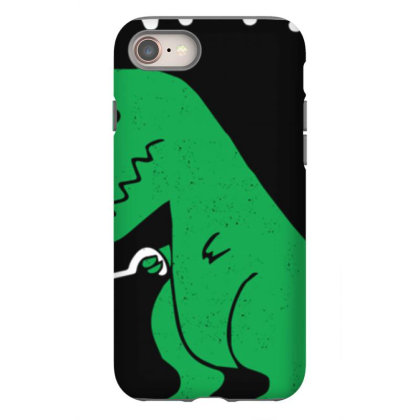 Now I'm Un.stop.pable   Funny  Dinosaur Pullover T Shirt Iphone 8 Case Designed By Tegan8688