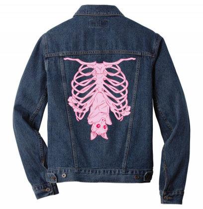 Nu Goth,  Pas.tel    Aest.hetic, Creepy Cute Bat T Shirt Men Denim Jacket Designed By Tegan8688