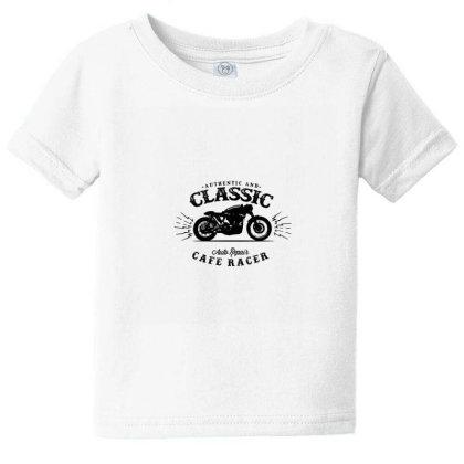 Motorcycle Logo Baby Tee Designed By Malik Veer