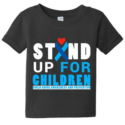 Child Abuse Aware.ness And  Preven.tion Month 2017 T Shirt Baby Tee Designed By Tegan8688