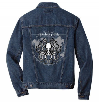 Octopus Cir.cu.lar Math T Shirt Oc.to.pi Lovers T Shirt Men Denim Jacket Designed By Tegan8688