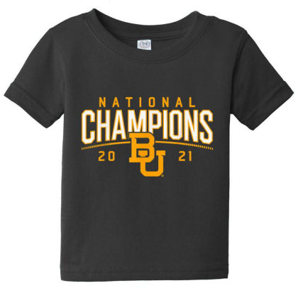 Baylor National Championship Baby Tee Designed By Amber Petty