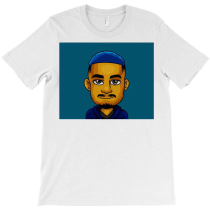 Mr Blue Hair T-shirt Designed By Tshepiso