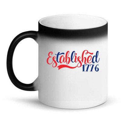 Established 1776 Magic Mug Designed By Gnuh79