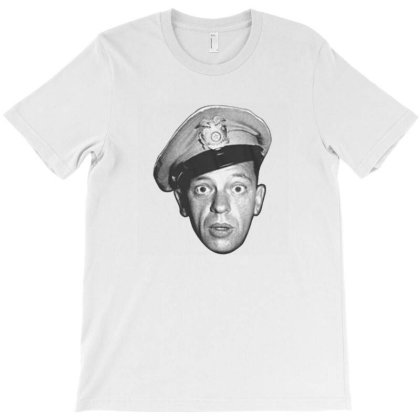 Andy Griffith Barney Head T-shirt Designed By Renkuz