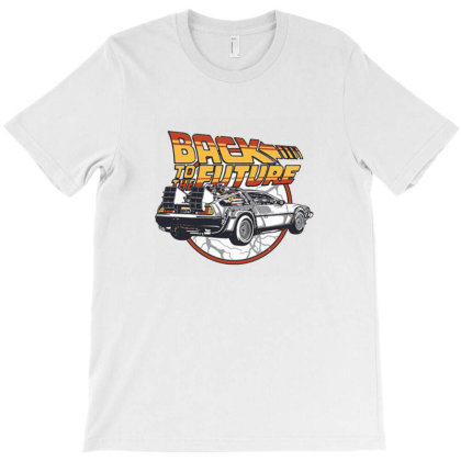 Back To The Future Time Machine T-shirt Designed By Renkuz
