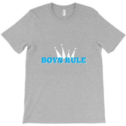 Boys Rule T-shirt Designed By Renkuz