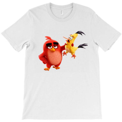 Angry Birds Funny Cartoon T-shirt Designed By Şen