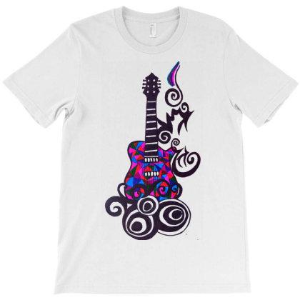 Travellers Guitar T-shirt Designed By Smriti_v.laxmi