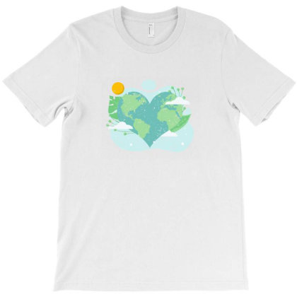 Save The Planet T-shirt Designed By Akin