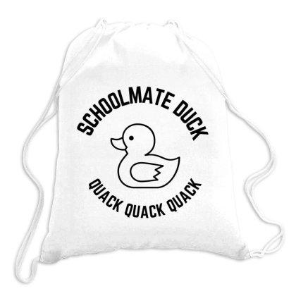 Schoolmate Duck Quack Quack Quack Drawstring Bags Designed By Favorite