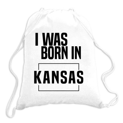 Kansas In United States Drawstring Bags Designed By Chris Ceconello