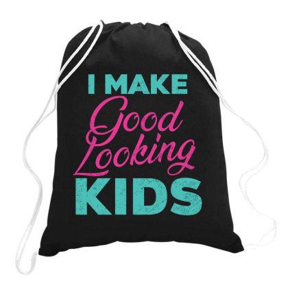 I Make Good Looking Kids Drawstring Bags Designed By Qudkin