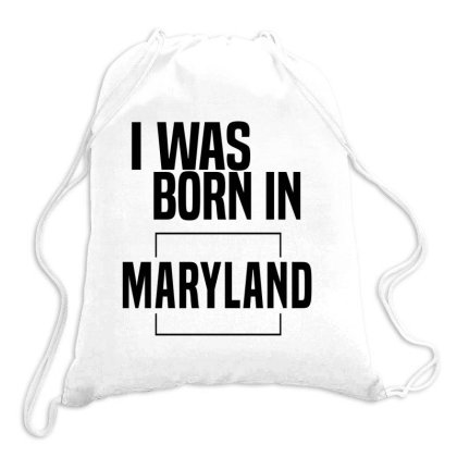 Maryland In United States Drawstring Bags Designed By Chris Ceconello