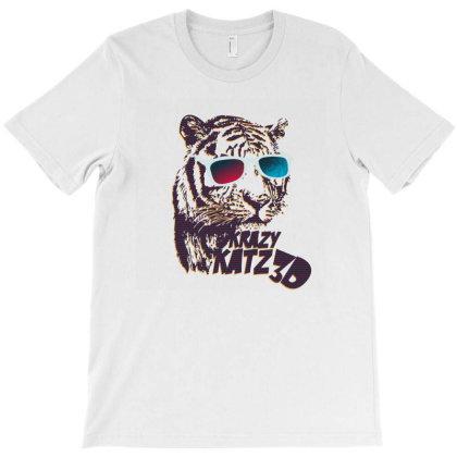 Krazy Katz 3d T-shirt Designed By Şen