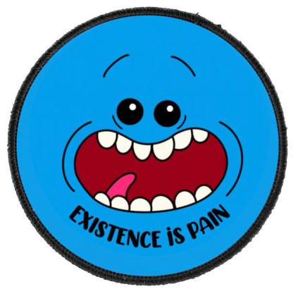 Existence Is Pain Round Patch Designed By Trobertson538