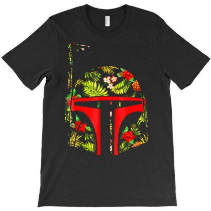 Bo.ba  F.e.tt  Tropical  Print Helmet  Grap  T Shirt T-shirt Designed By Wened313