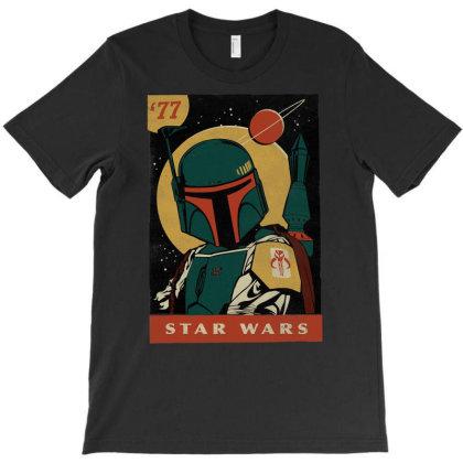 Bo.ba  F.e.tt   Trading Card '77 Grap  T Shirt T-shirt Designed By Wened313