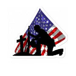 Memorial Day Soldier Sticker Designed By Akin