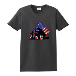 Memorial Day Soldier Ladies Classic T-shirt Designed By Akin