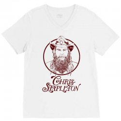 chris stapleton V-Neck Tee | Artistshot