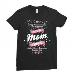 It's A Mom Thing Ladies Fitted T-Shirt | Artistshot