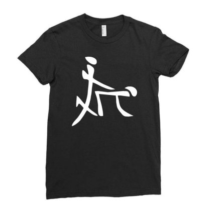 China Sex Symbol Ladies Fitted T-shirt Designed By Wanzinx