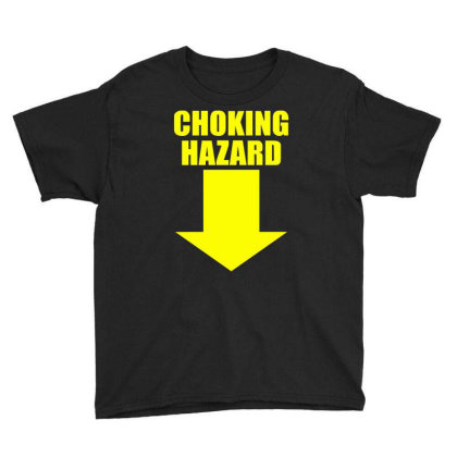 Choking Hazard Youth Tee Designed By Wanzinx