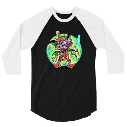 Astro Batty 3/4 Sleeve Shirt Designed By Grider