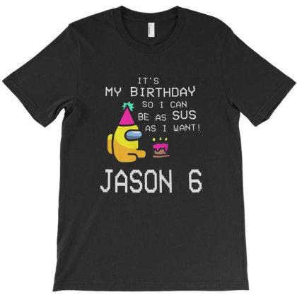 It's My Birthday T-shirt Designed By Grider